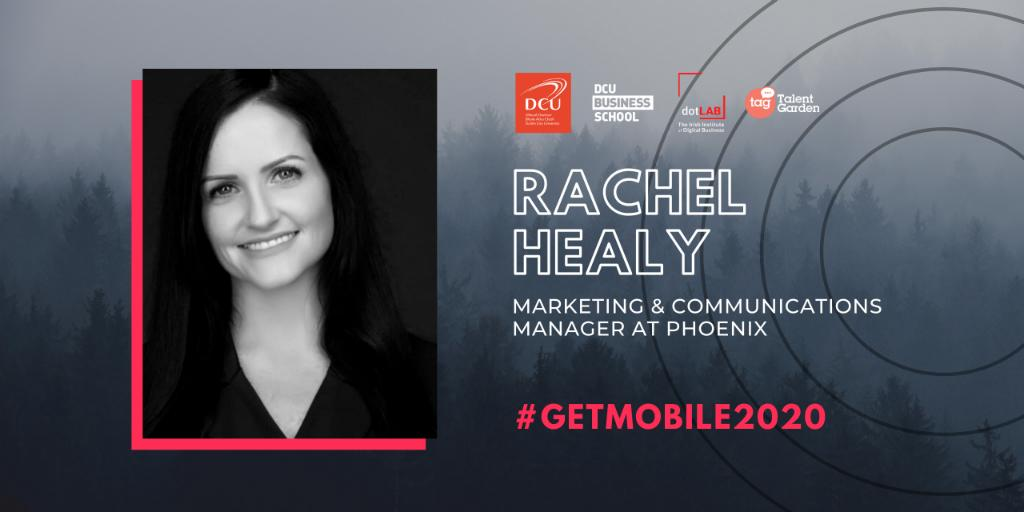 Phoenix Marketing & Communications Manager Rachel Healy, MA, discusses remote work at GET Mobile 2020